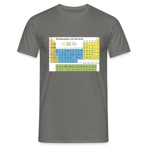 Periodensystem - Männer T-Shirt
