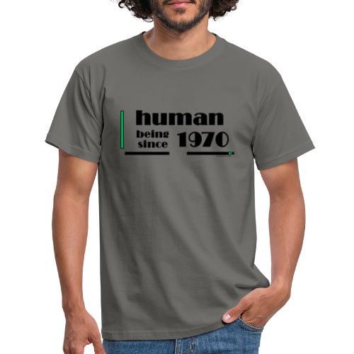1970 Anniversary Black - Men's T-Shirt