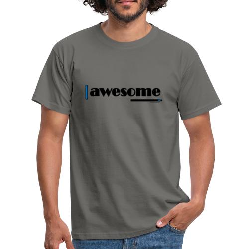 Awesome Blue - Men's T-Shirt