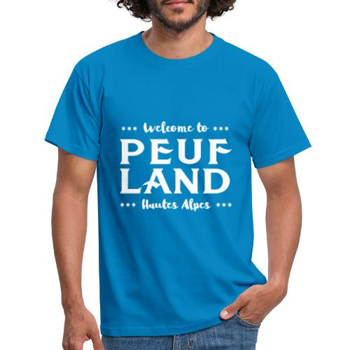 Peuf Land 05 - Hautes-Alpes - White - T-shirt Homme