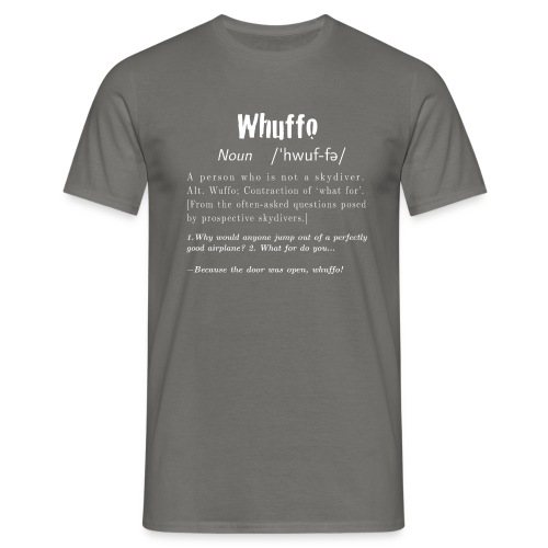 Whuffo? - Miesten t-paita