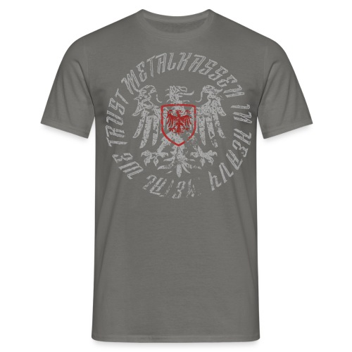 rund2018metal png - Herre-T-shirt