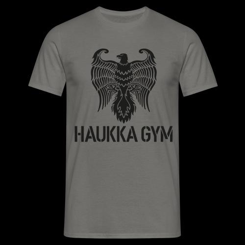 HAUKKA GYM LOGO - Miesten t-paita