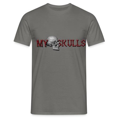 myskulls vorlage gross - Männer T-Shirt