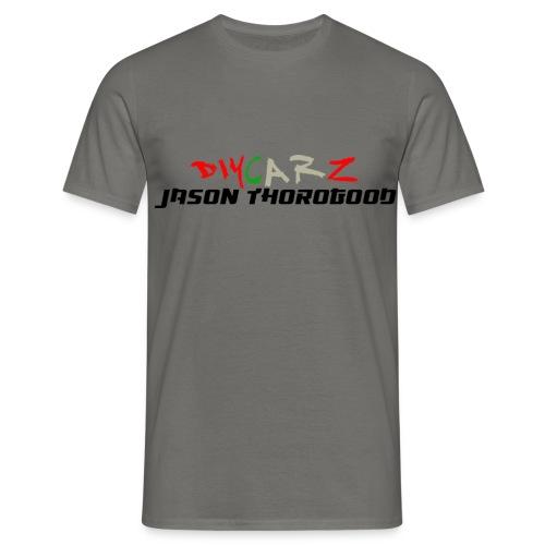 DIYCARZ-JASON THOROGOOD BRAND MERCH - Men's T-Shirt