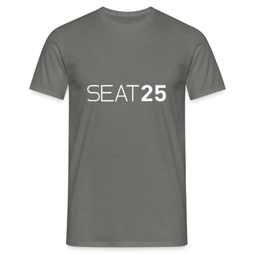 Seat25 Logo Light - Men's T-Shirt