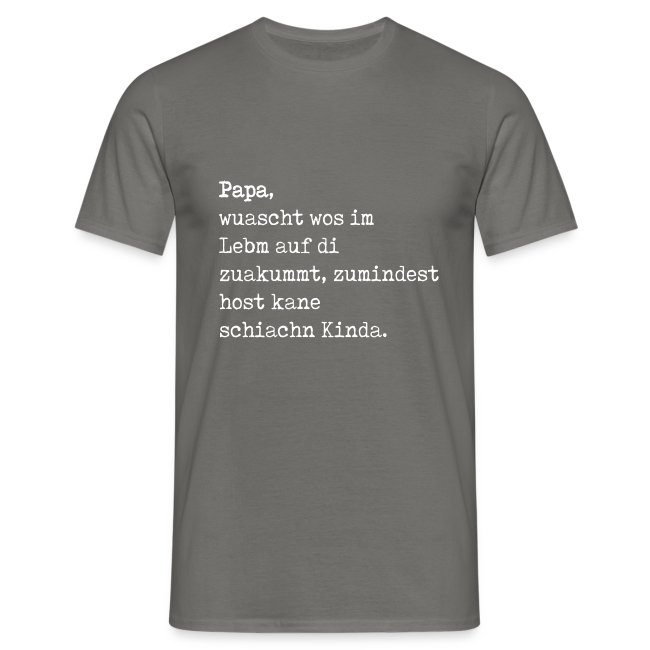 Vorschau: Schiache Kinda - Männer T-Shirt