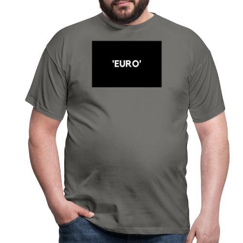 EURO - Herre-T-shirt