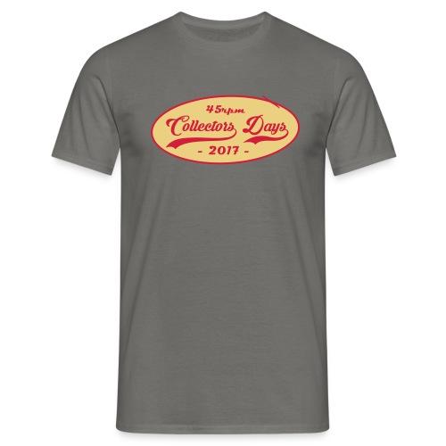 VintageCDLogo2017 - Männer T-Shirt