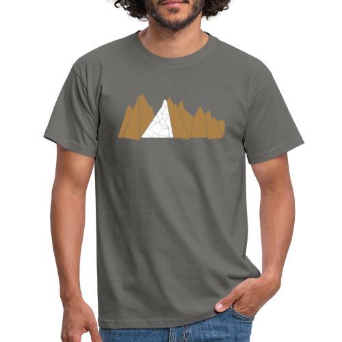 T-Shirt Mountains - Männer T-Shirt
