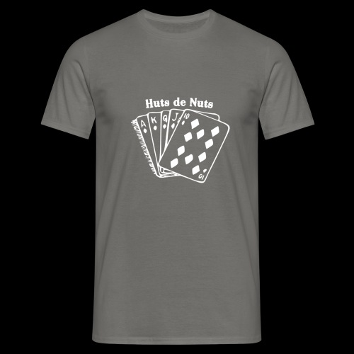 Royal Huts de Nuts white Made with PosterMyWall - Mannen T-shirt