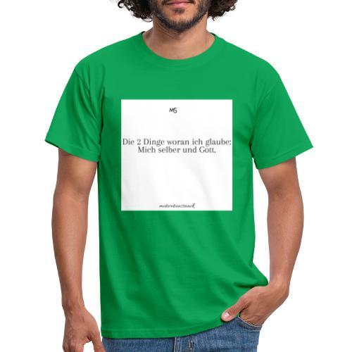 2 Dinge - Männer T-Shirt