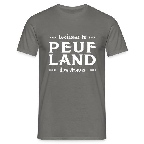 Peuf Land Aravis - White - T-shirt Homme