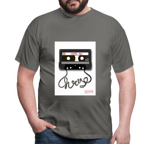 Cesette House Music - Koszulka męska