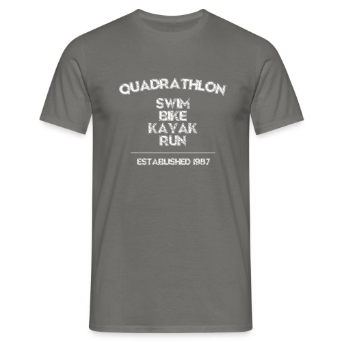 Quadrathlon1987w - Men's T-Shirt