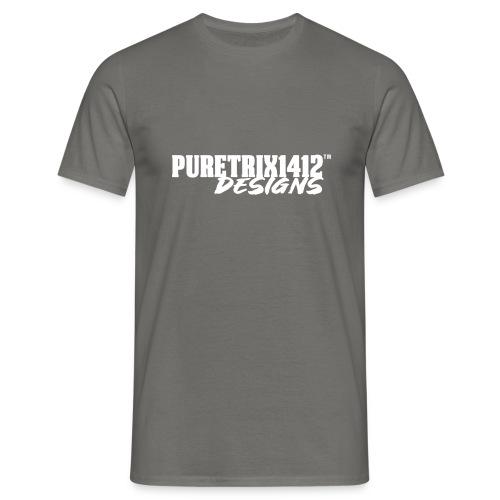 PuretrixTextLogo - Männer T-Shirt