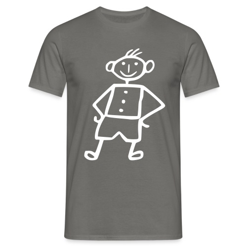 me-white - Männer T-Shirt