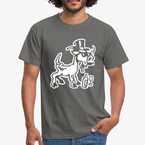 Bock auf Shirts ohne Text 30102018 7 07 - Männer T-Shirt