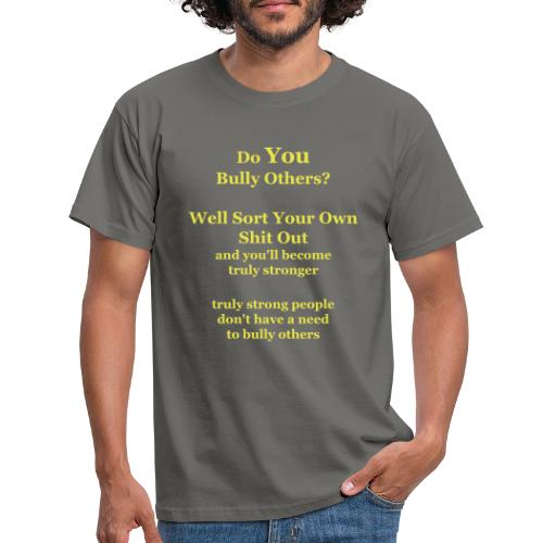 truly strong - vector - Men's T-Shirt