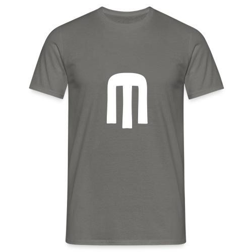 unstablishment logo blanc - T-shirt Homme