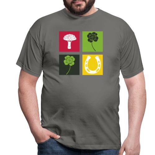 Just my luck Glück - Männer T-Shirt