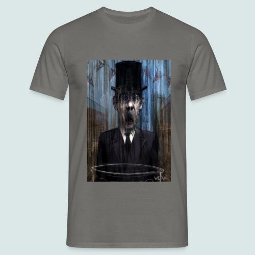 Control - Portrait of Mogg - Men's T-Shirt