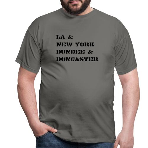 Courteeners - LA New York - Men's T-Shirt