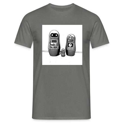 0342 Shirt ROBOT Bot IIII - Männer T-Shirt