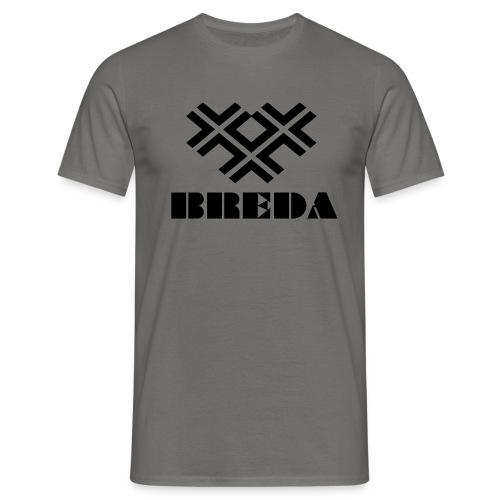 BredaBLACK - Mannen T-shirt