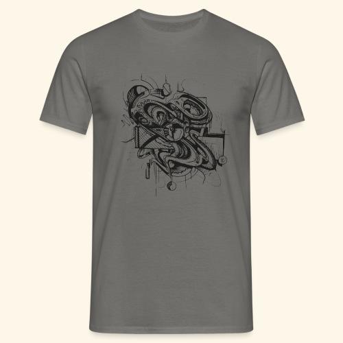 Unruhe by buks.one - Männer T-Shirt