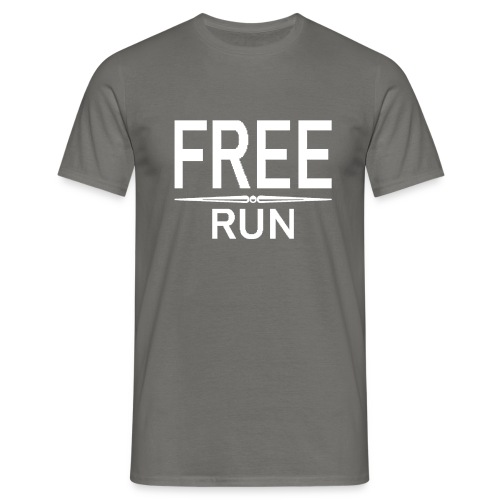 FREE RUN - Mannen T-shirt