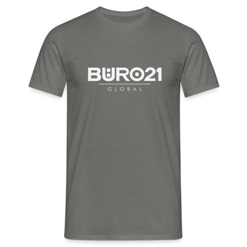 BÜRO21 Global Pinstripe - Männer T-Shirt
