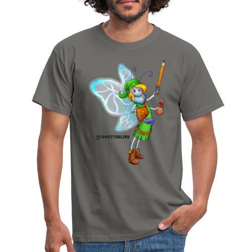 Schmetterlink - Männer T-Shirt