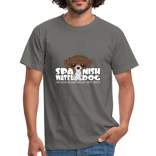 Spanish Water Dog (Brown&White) - DGBigHead - Men's T-Shirt