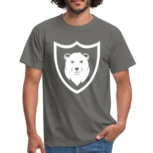 Baerspektivo Logo in weiß - Männer T-Shirt
