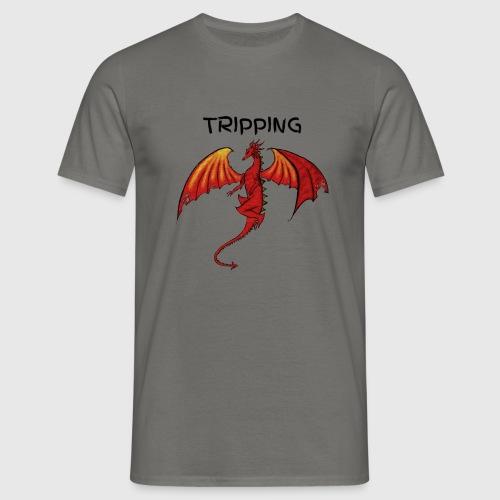 tripping - Mannen T-shirt