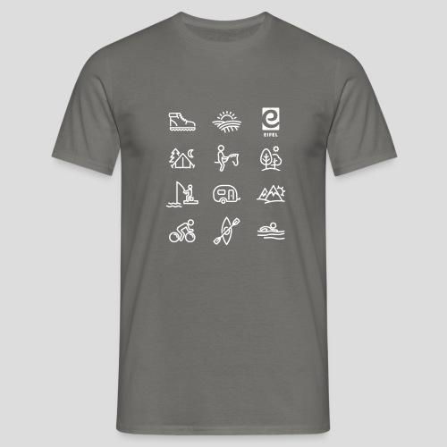 Eifel - Freizeit - weiß - Männer T-Shirt