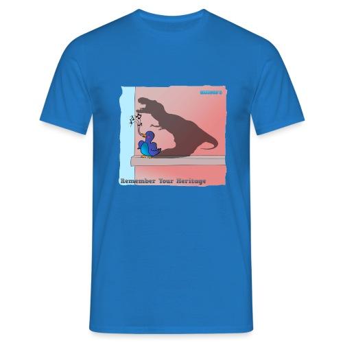 Woofra's Design Heritage - Men's T-Shirt