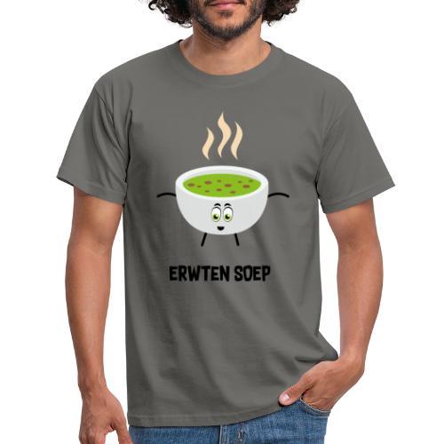 Erwten soep - Mannen T-shirt