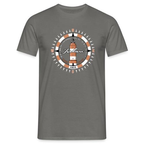 ISOKARI MAJAKKA Kompassi tekstiilit, lahjatuotteet - Miesten t-paita
