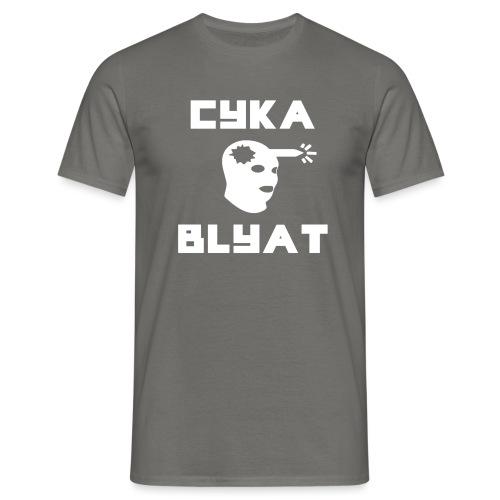 CYKA_BLYAT-png - Men's T-Shirt