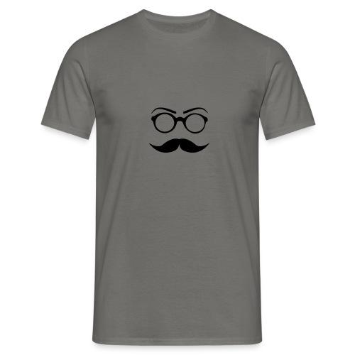 Schnurrbart - Männer T-Shirt