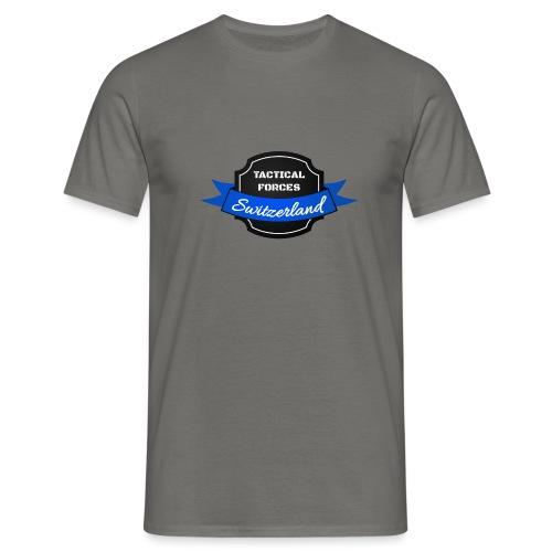 TFS Ruban noir et bleu - T-shirt Homme