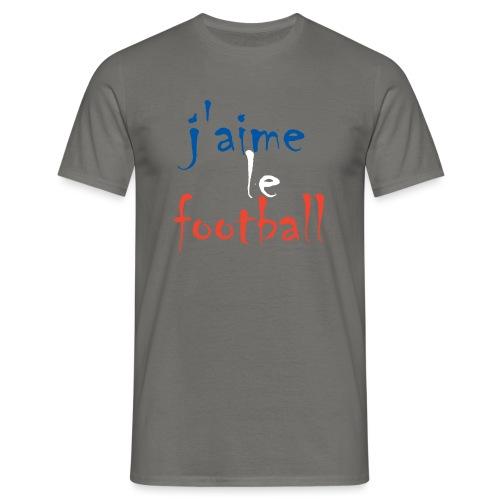 j' aime le football - Männer T-Shirt