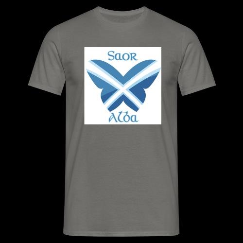Saor Alba butterfly - Men's T-Shirt