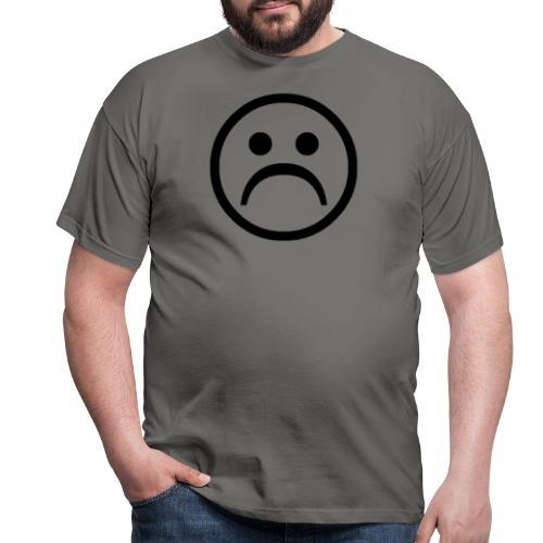 carita triste - Camiseta hombre