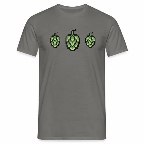 8 bit Hops - T-skjorte for menn