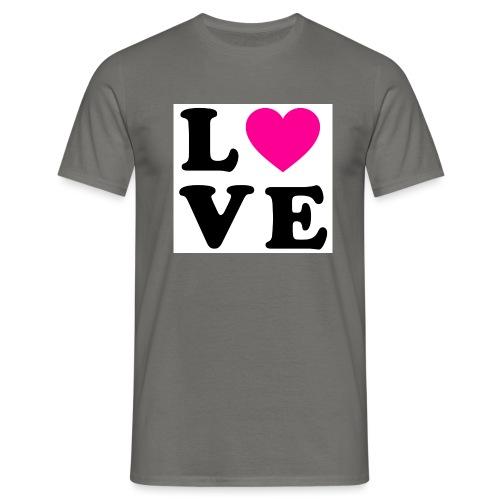 Love t-shirt - T-shirt Homme