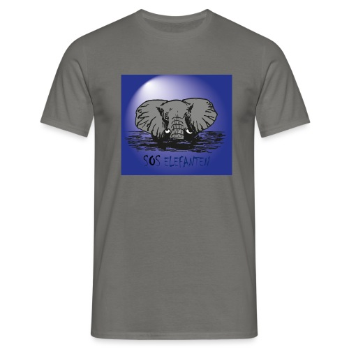 SOS ELEFANTEN - Männer T-Shirt