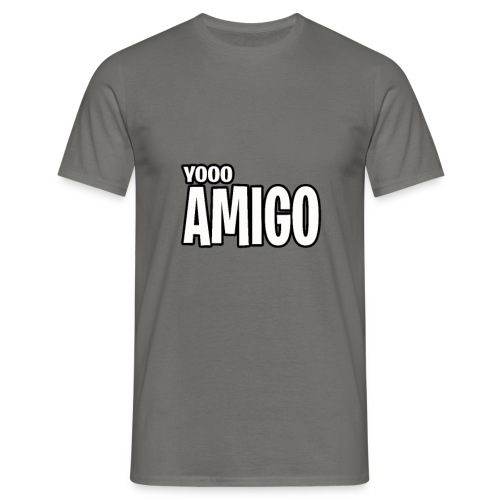 yoooo amigo - Men's T-Shirt